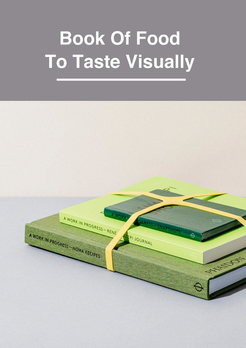 Book Of Food  To Taste Visually